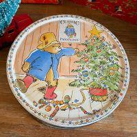 Vintage Christmas Tin - Paddington Bear