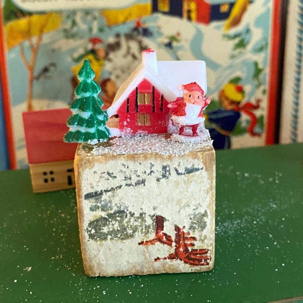 Vintage Christmas Decoration - Handmade - Mid-Century
