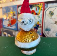 Vintage Father Christmas Ornament - 1960's