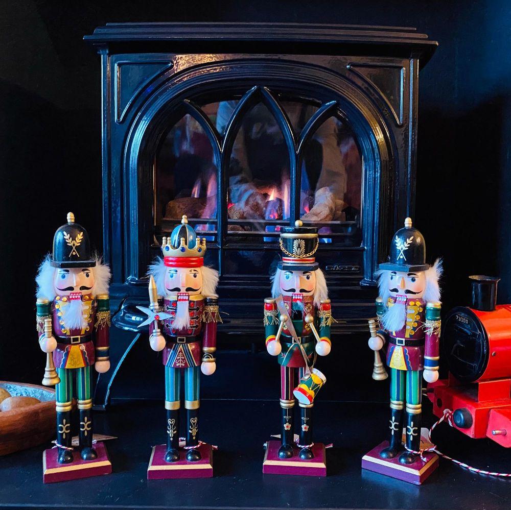 Wooden Nutcracker Dolls - 30cm High