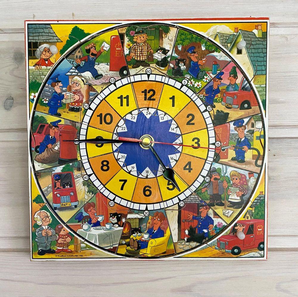 Postman Pat Wall Clock