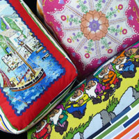 <!-- 0010 -->Tapestry Floor Cushions