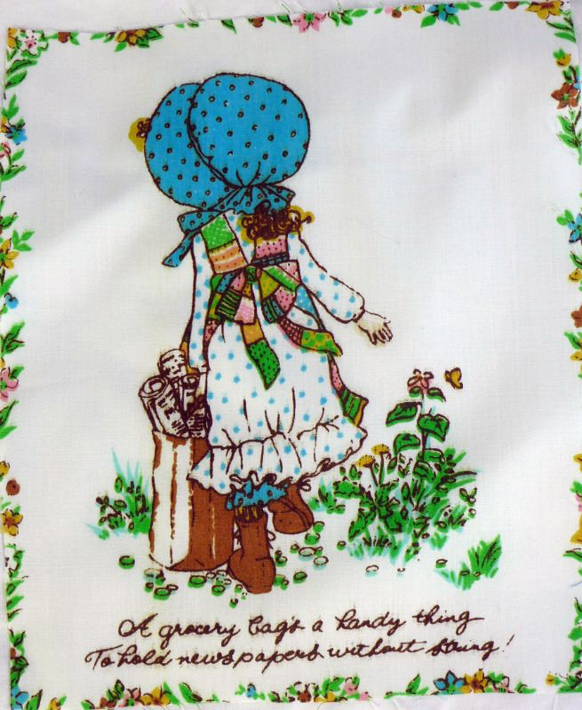 holly hobbie vintage fabric