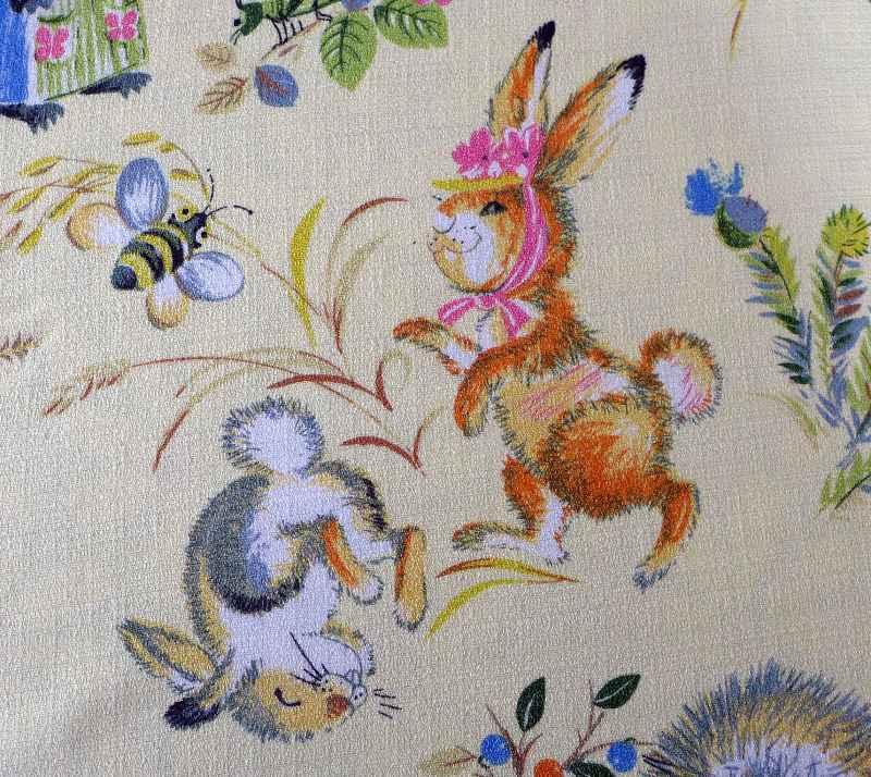 woodland-animal-vintage-fabric-2