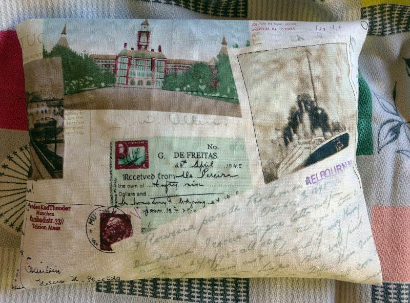 thermal-pillow---postcard-fabric