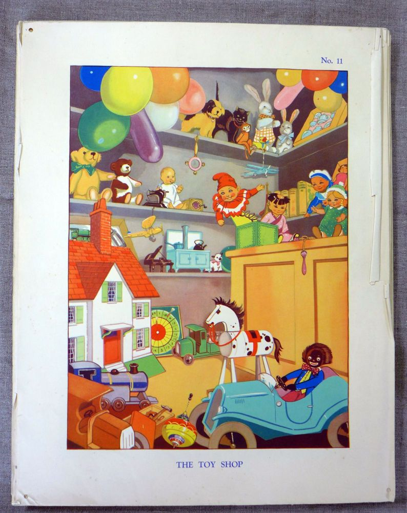 Vintage School Poster 1938 - The Toyshop