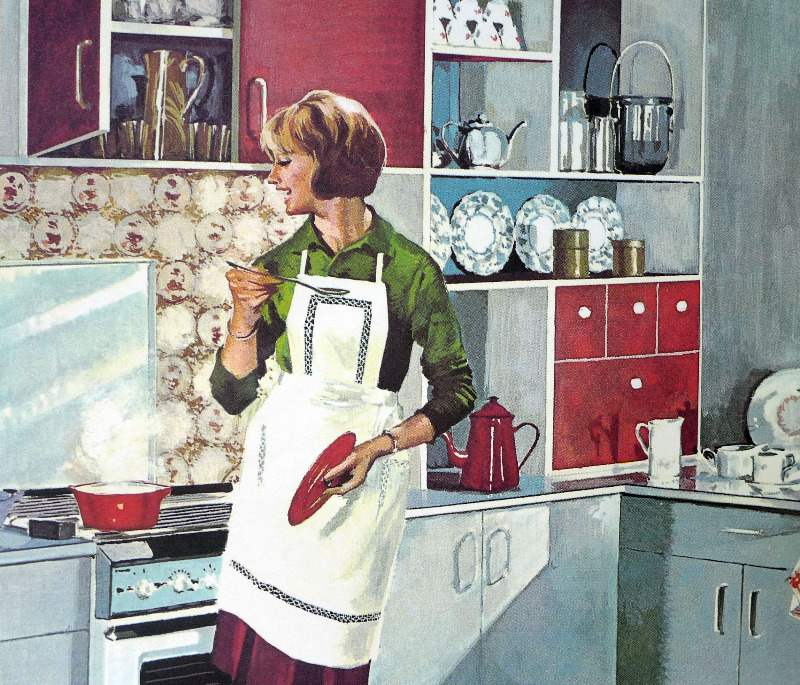vintage-french-school-poster-mother-at-home-2