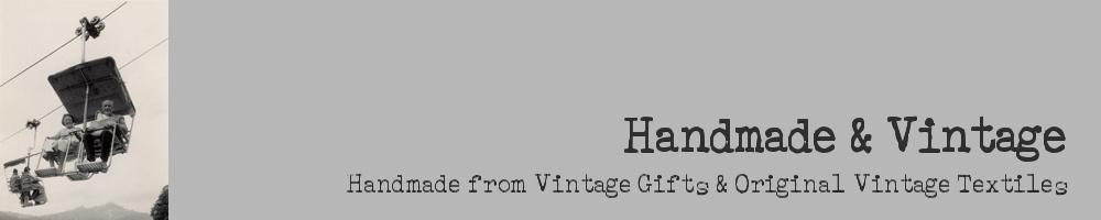 handmadeandvintage, site logo.