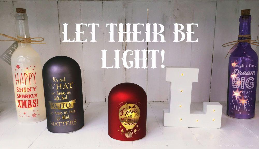 Let their be Light