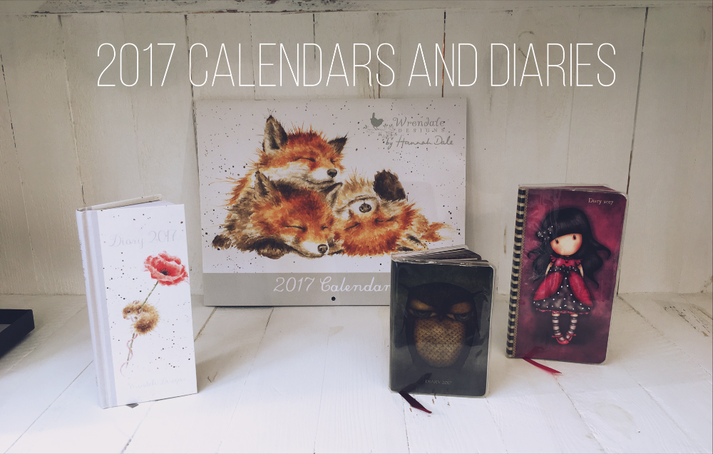 2017 Calendars and Diaries