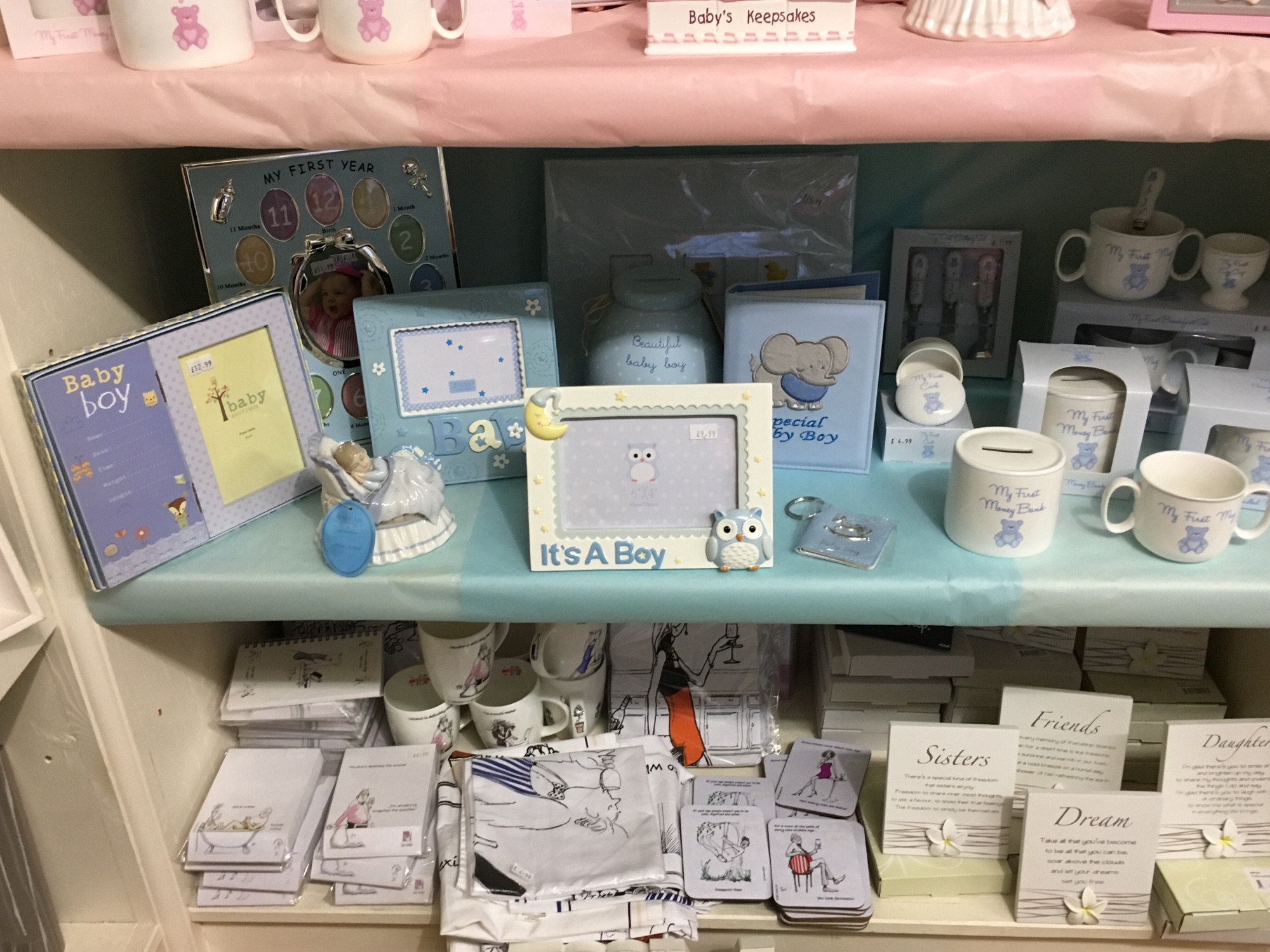 Out of the Blue Totnes Baby Boy Gifts