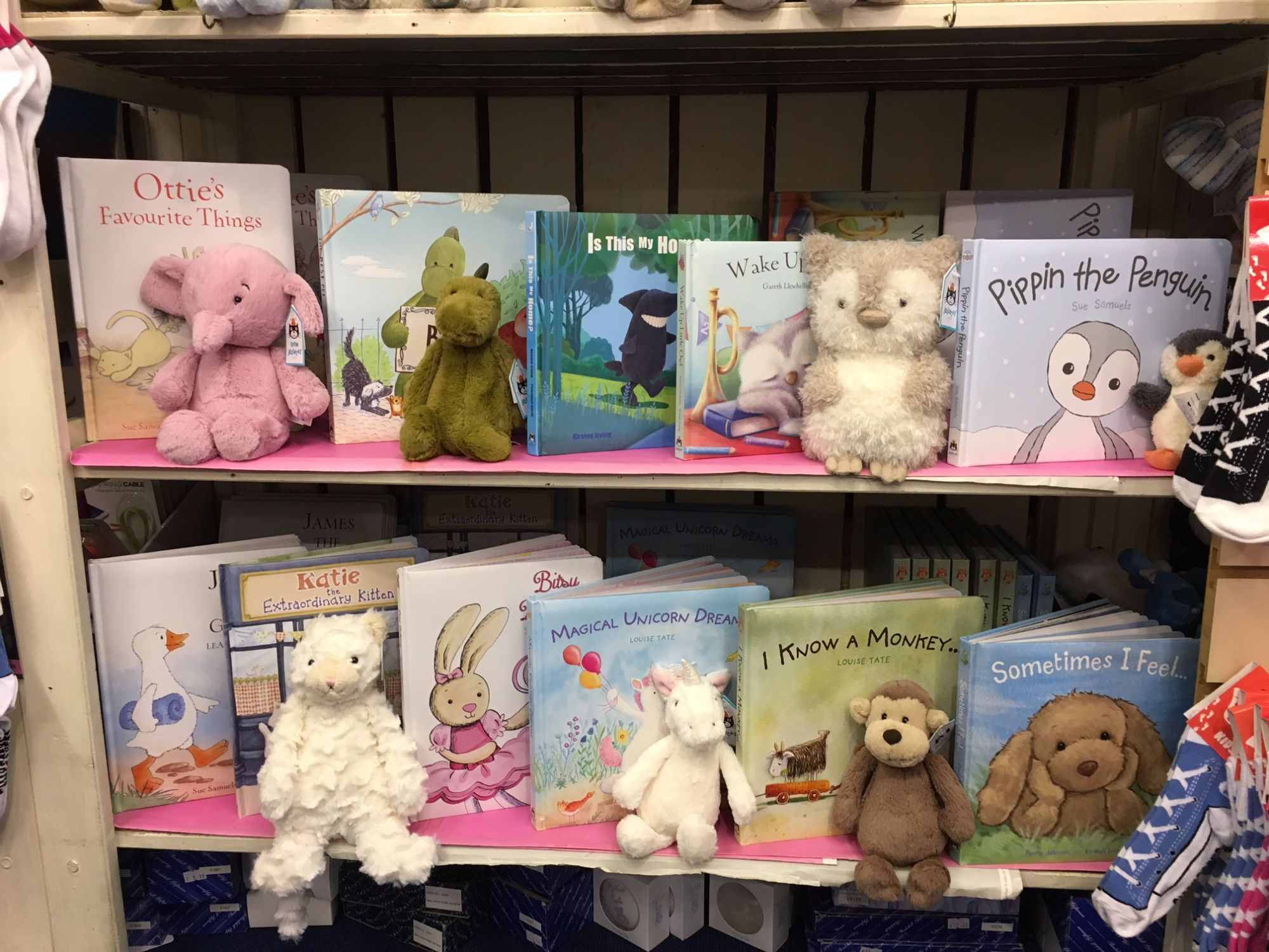 Out of the Blue Jellycat Books