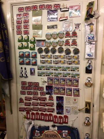 Out of the Blue Totnes Devon Magnets