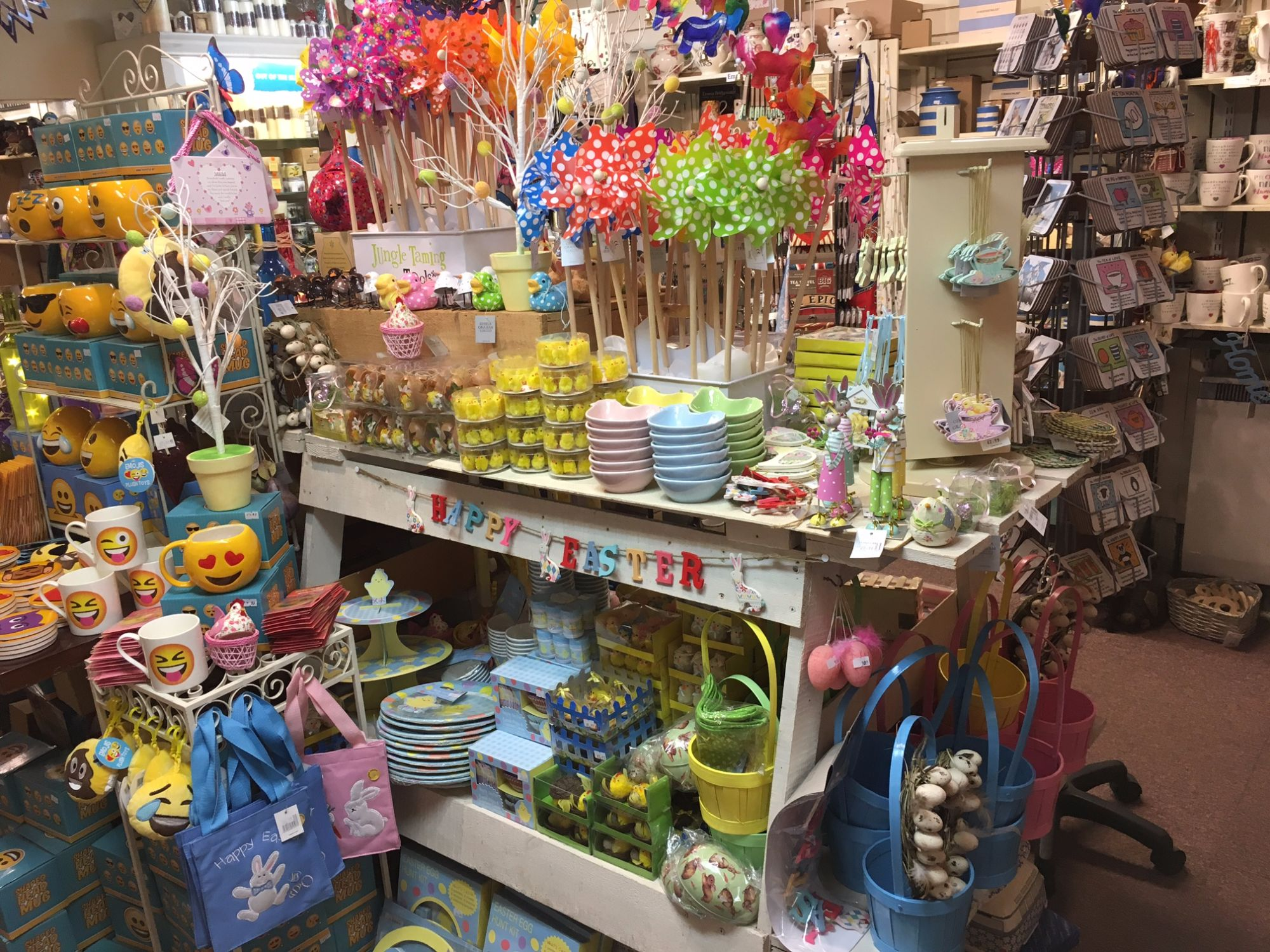 Out of the Blue Totnes Easter Gifts