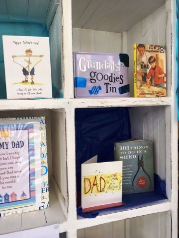 Out of the Blue Fathers Day Window 2017 6