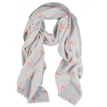 Wrendale Flamingo Scarf