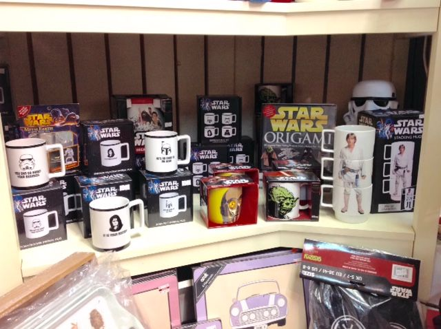 Out of the Blue Totnes Star Wars Gifts