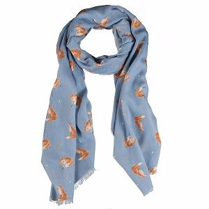 Wrendale Fox Scarf