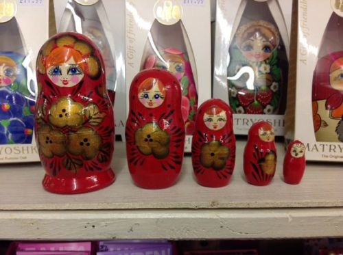 Russian Dolls Out of the Blue Totnes