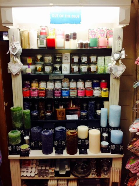 Out of the Blue Totnes Candles
