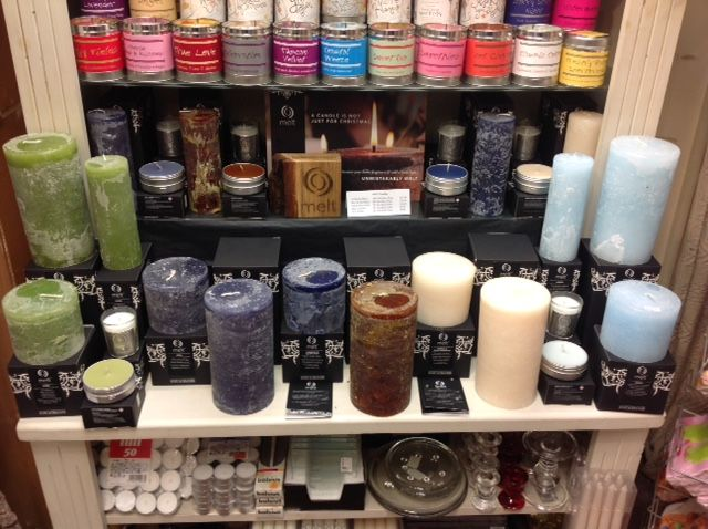 Out of the Blue Totnes Melt Candles