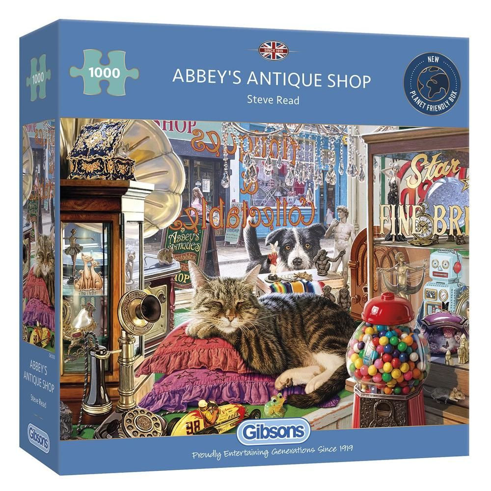 Jigsaw Puzzles - Gibsons