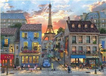 Evening in Paris Jigsaw Puzzle