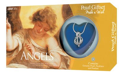 Angels Pearl and Necklace Giftset