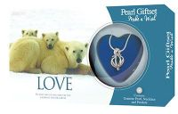 Love Polar Bears Pearl and Necklace Giftset