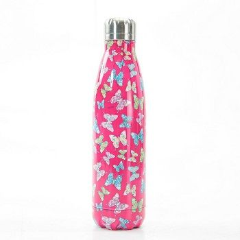 Eco Chic The Bottle - Fuchsia Butterfly