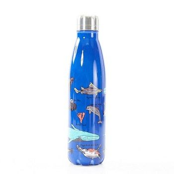 Eco Chic The Bottle - Blue Sea Creatures