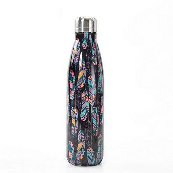 Eco Chic The Bottle - Black Feather