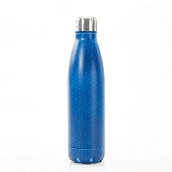 Eco Chic The Bottle - Navy Cubes