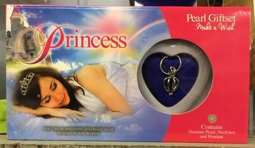 Princess Pearl and Necklace Giftset