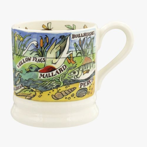 Emma Bridgewater River and Shore Fresh Water Half Pint Mug
