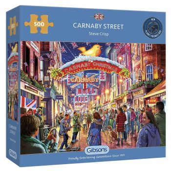 Gibsons Carnaby Street 500 Piece Jigsaw Puzzle