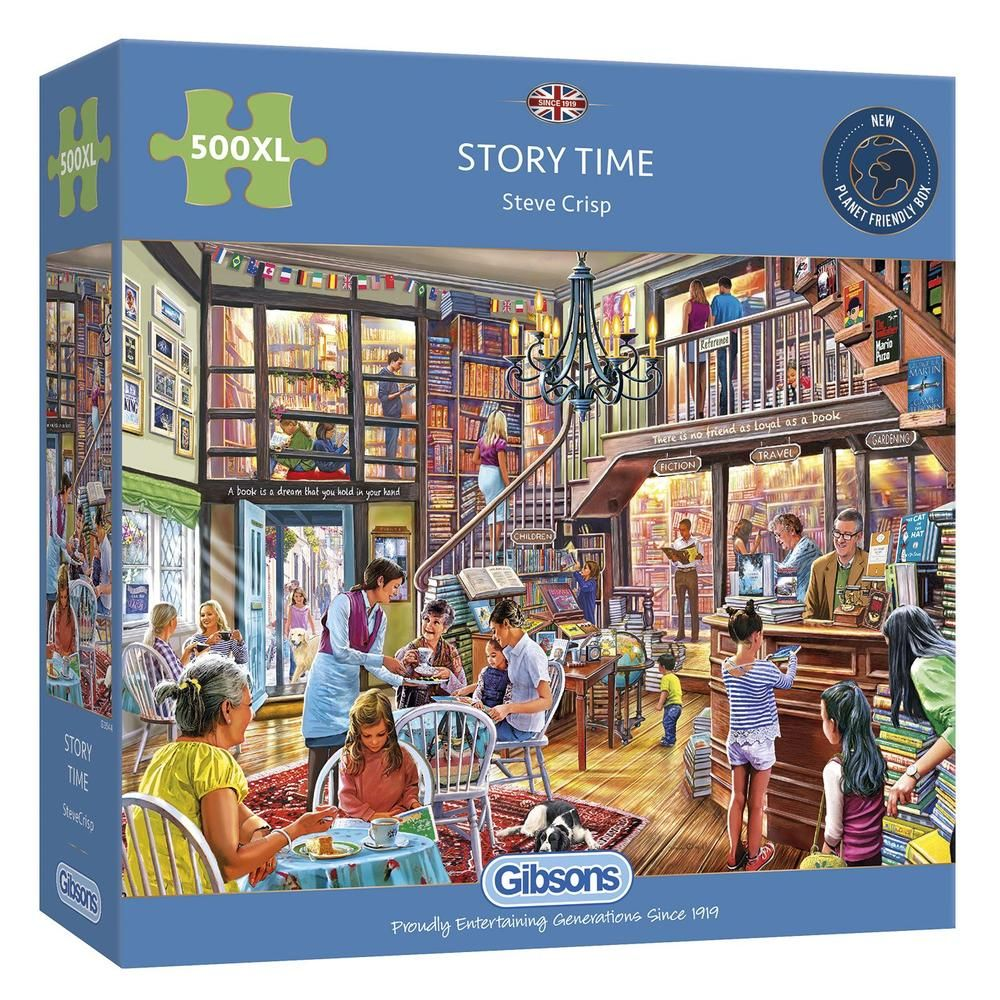 Gibsons Story Time 500XL Piece Jigsaw Puzzle