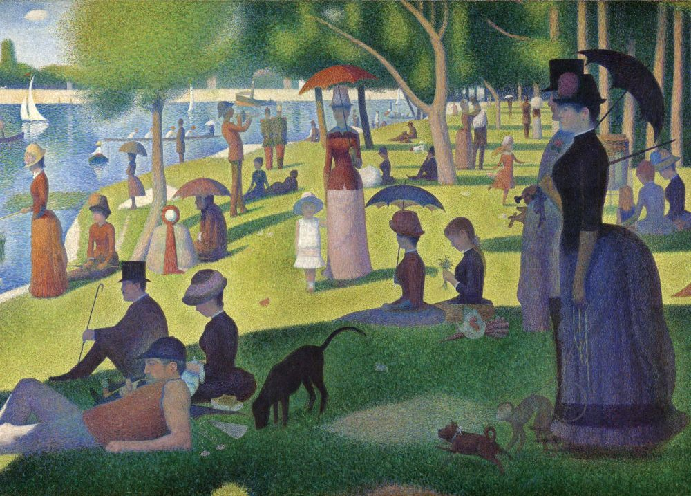 A Sunday on La Grande Jatte Jigsaw Puzzle