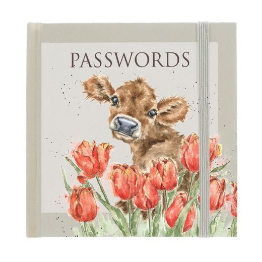 Wrendale Designs Bessie Cow Password Book
