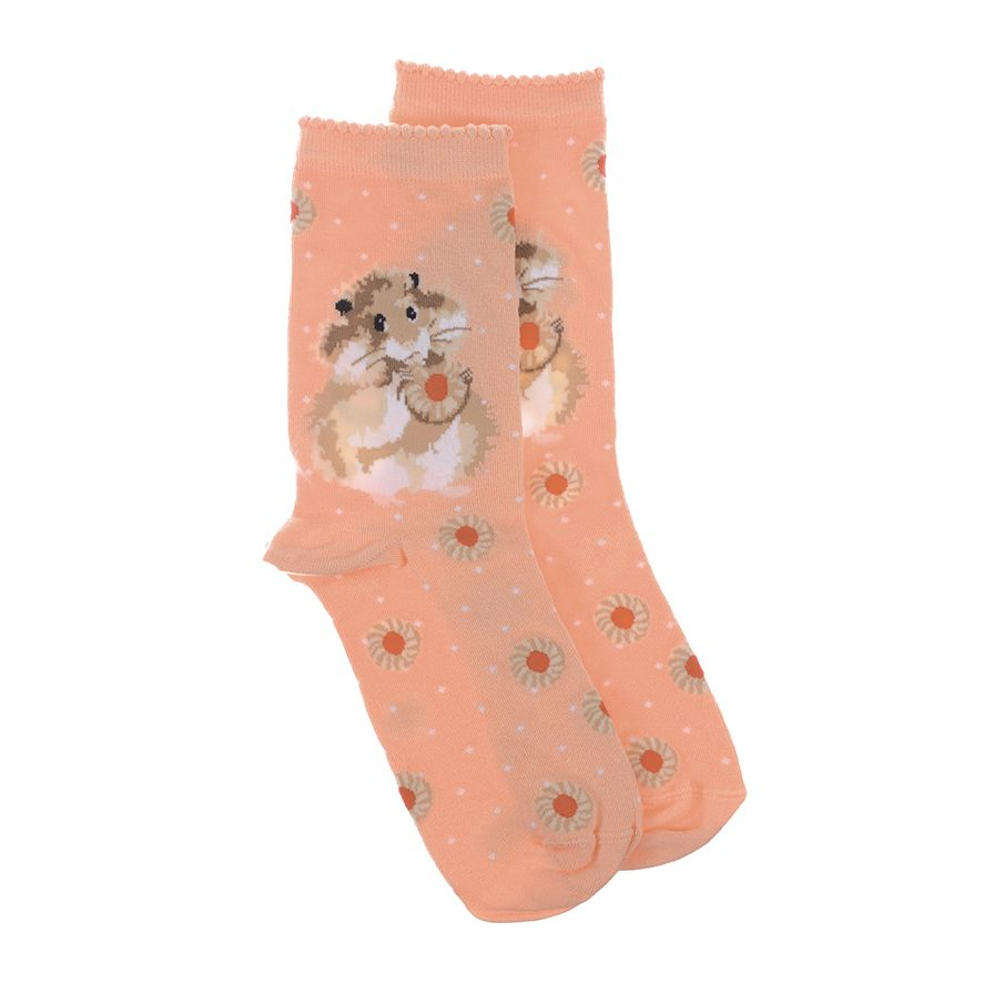 Wrendale Designs Diet Starts Today Hamster Socks