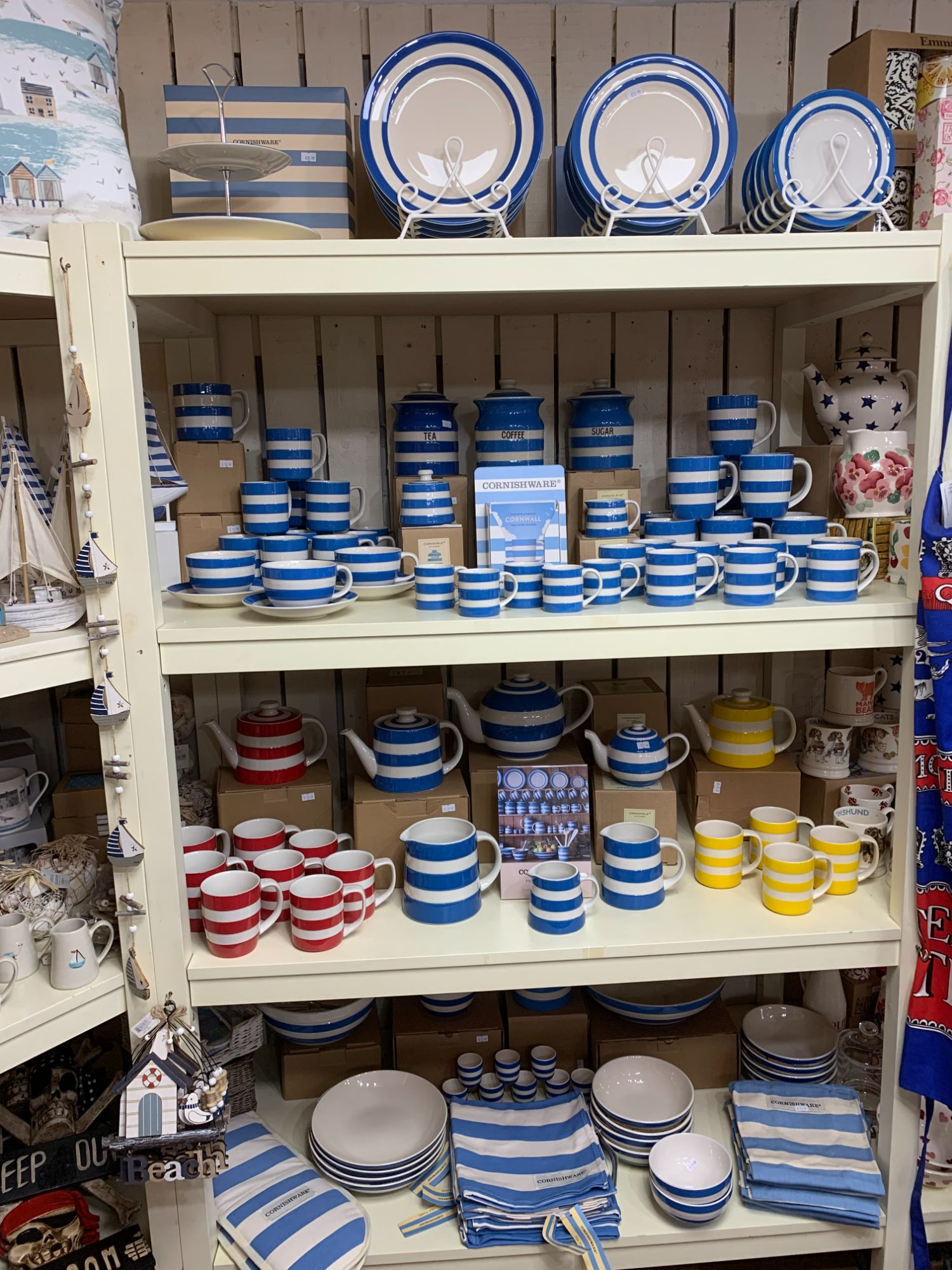 TG Green Cornishware at Out of the Blue Totnes