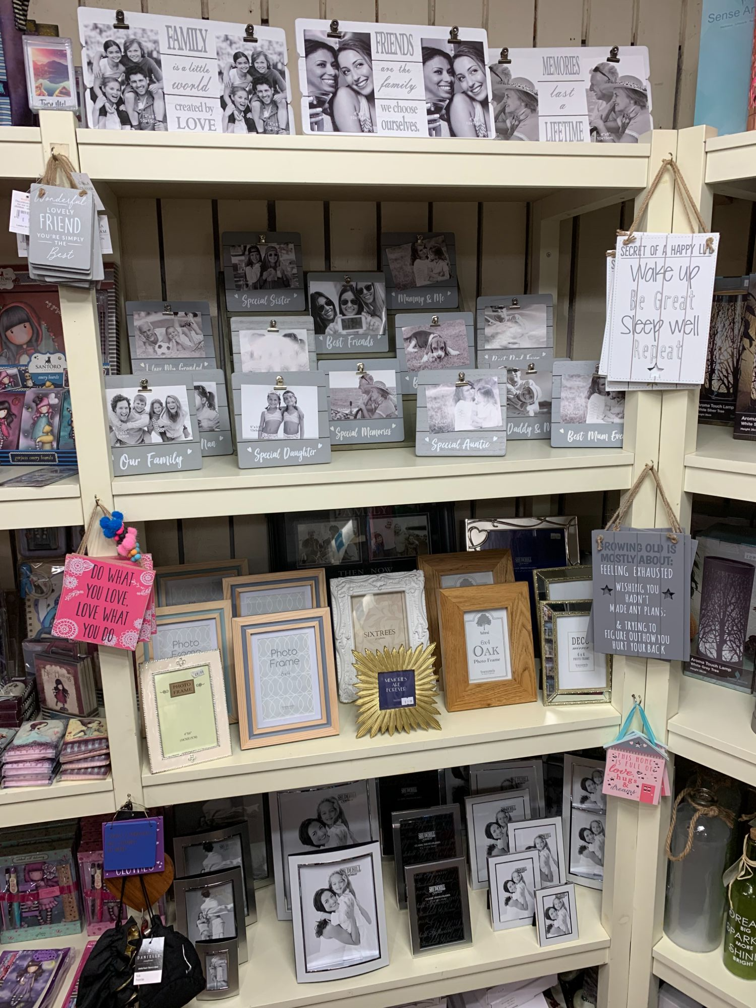 Photo Frames at Out of the Blue Totnes