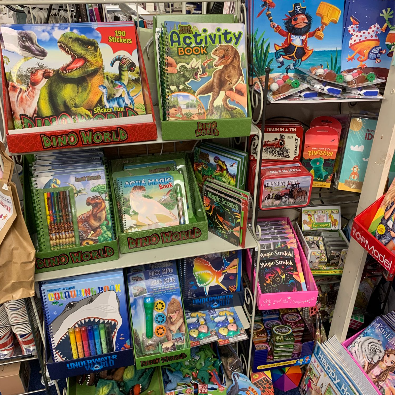 Dinosaur Gifts at Out of the Blue Totnes