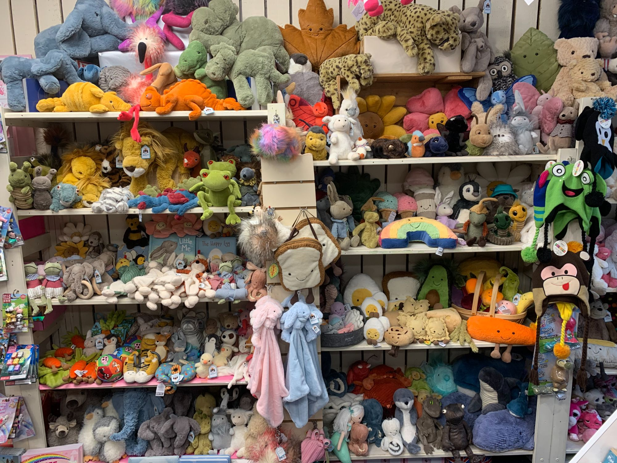 Jellycat Toys at Out of the Blue Totnes