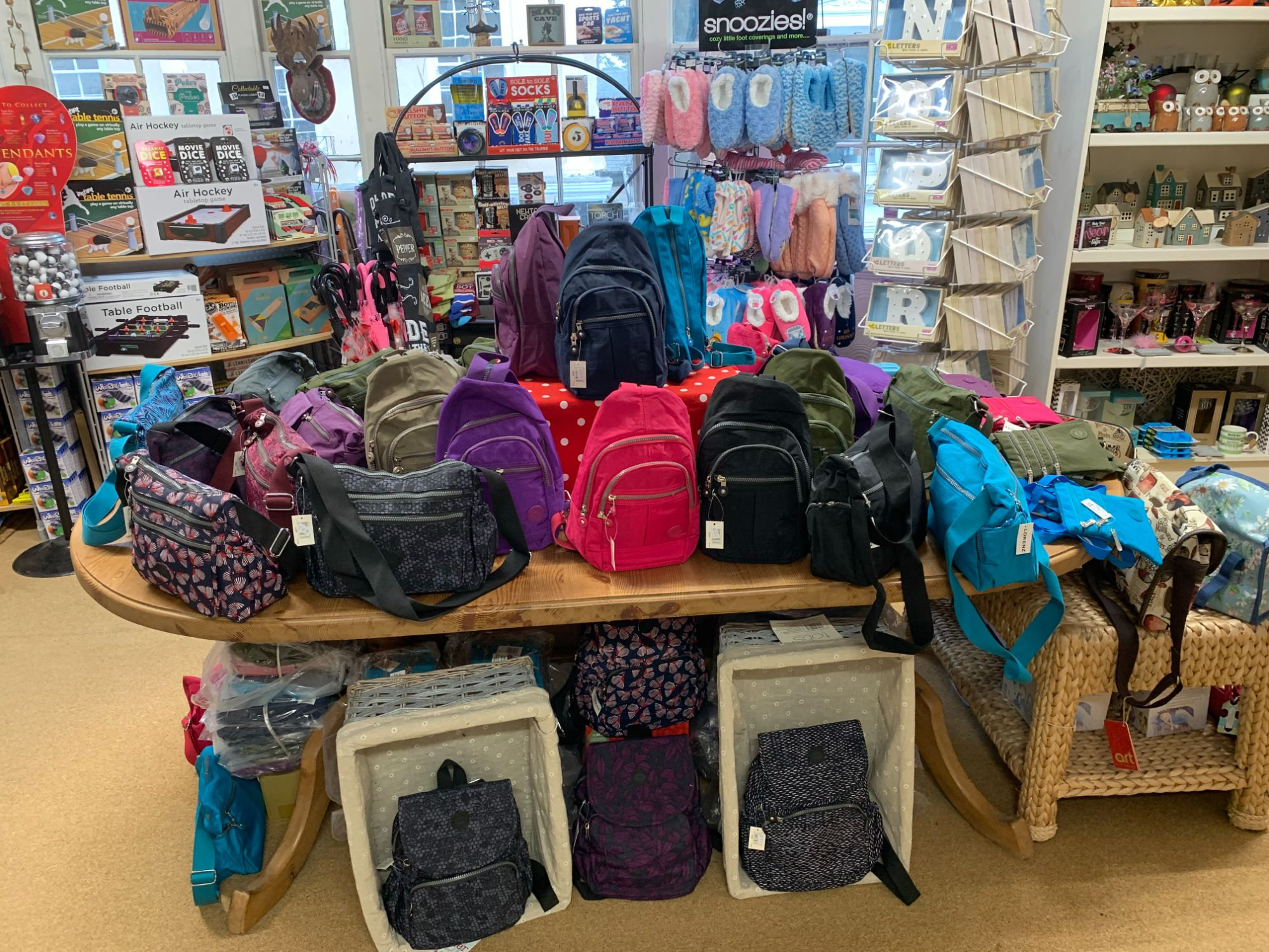 Lightweight Bags at Out of the Blue Totnes