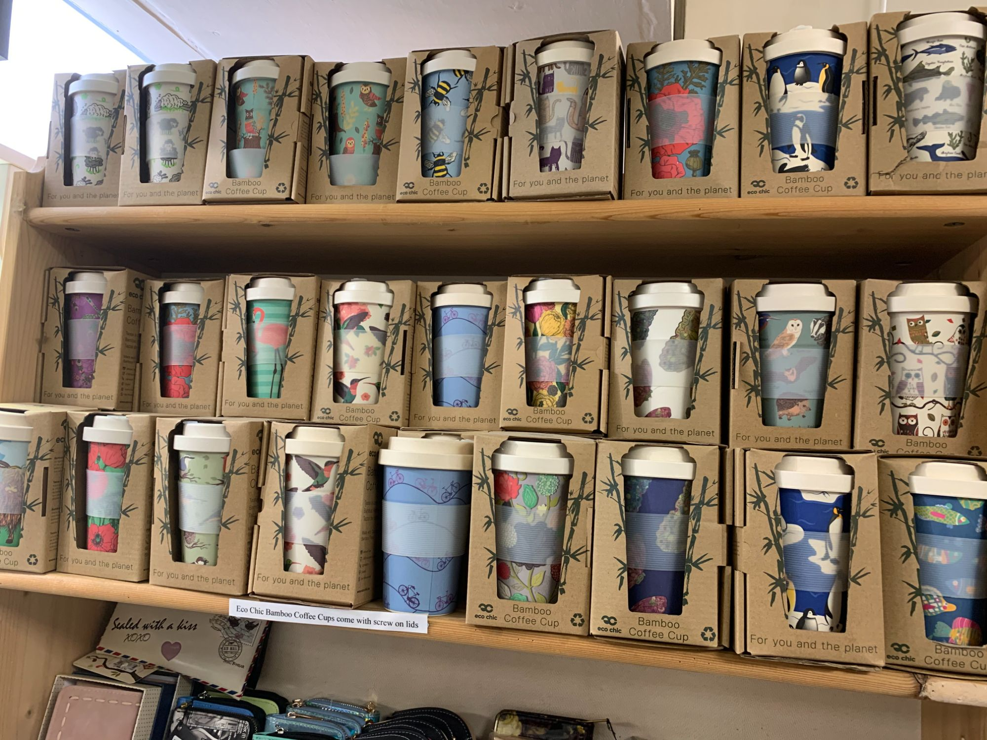Eco Chic Bamboo Mugs at Out of the Blue Totnes