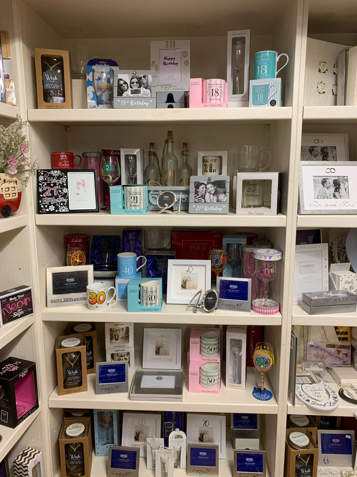 Age Gifts at Out of the Blue Totnes