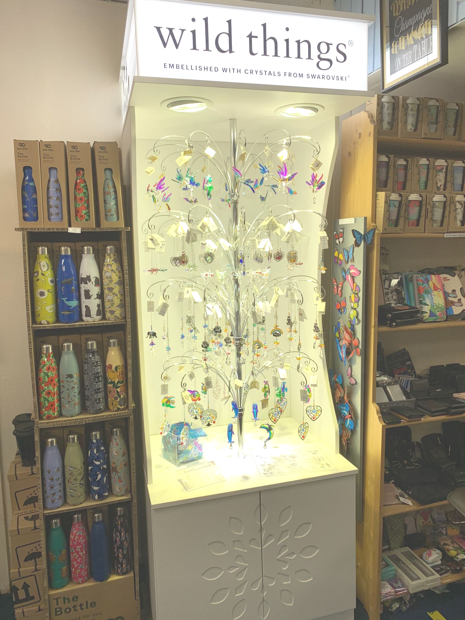 Wild Things Crystals at Out of the Blue Totnes