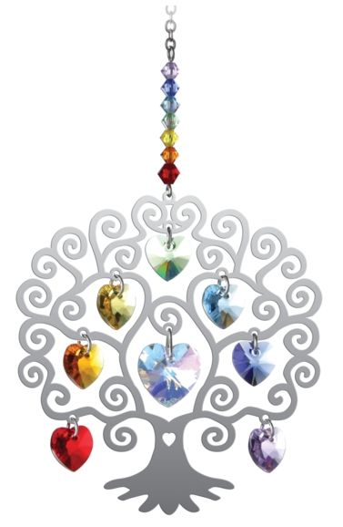 Wild Things Pure Radiance Tree of Life Crystal - Chakra