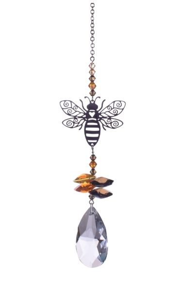 Wild Things Crystal Fantasies Bee - Autumn Gold